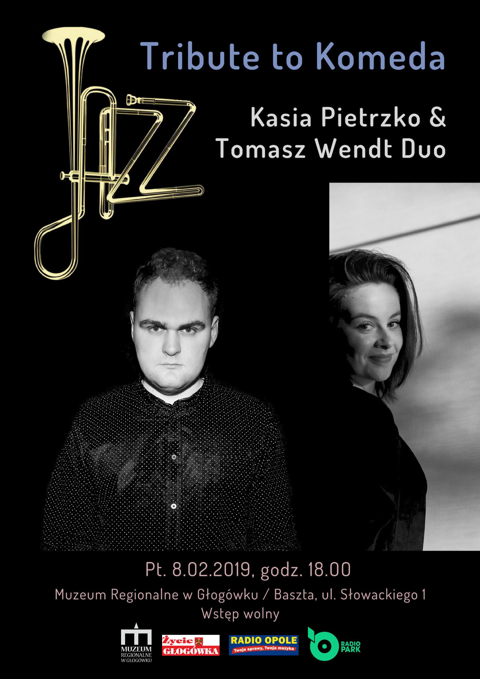 Kasia Pietrzko & Tomasz Wendt Duo, Tribute to  Komeda