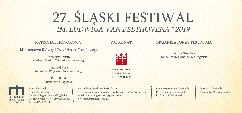 27. Śląski Festiwal im. Ludwiga van Beethovena w Głogówku