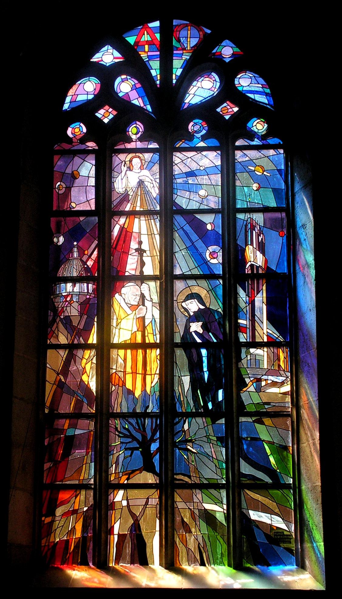 Boże Miłosierdzie, kościół oo. Franciszkanów, Lwówek Śląski