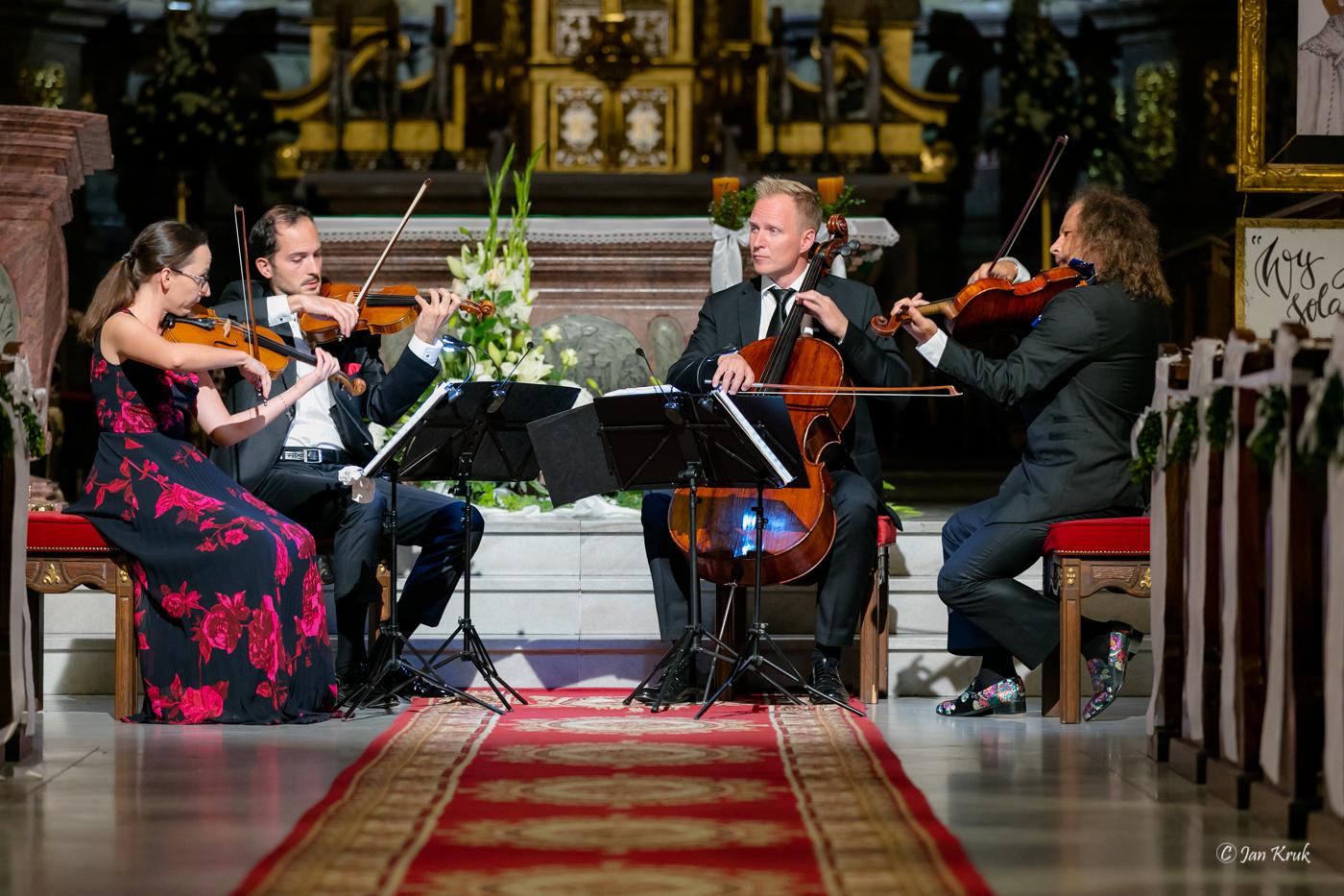 Artyści z Karol Szymanowski Quartet