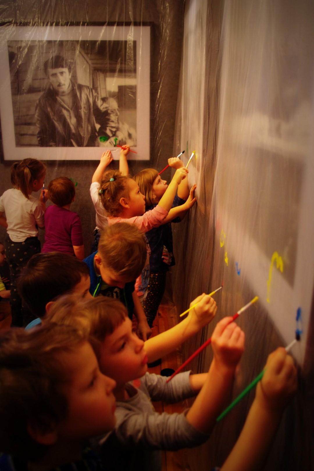 Warsztaty przy wystawie zdjęć Ryszarda Kapuścińskiego
