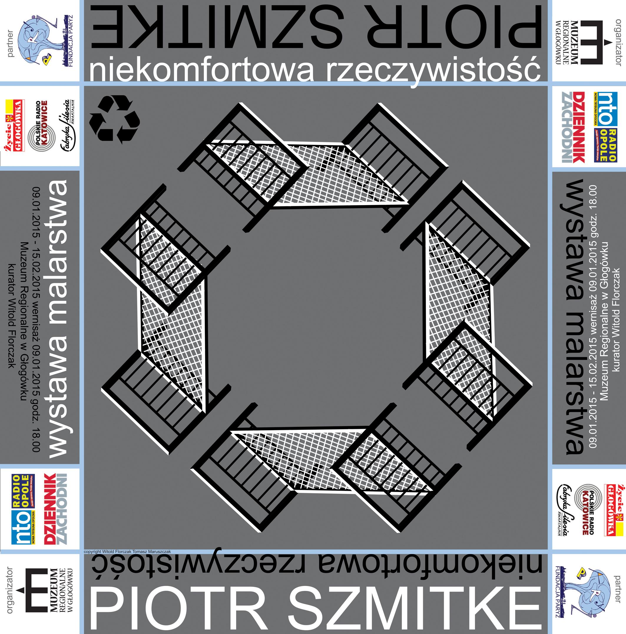 Piotr Szmitke_plakat_Niekomfortowa_rzeczywistosc