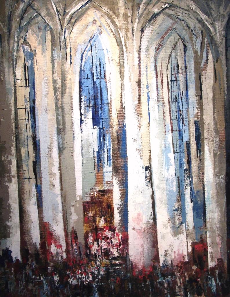 Hubert Globisch, Gdańsk-Kościół Mariacki,1975