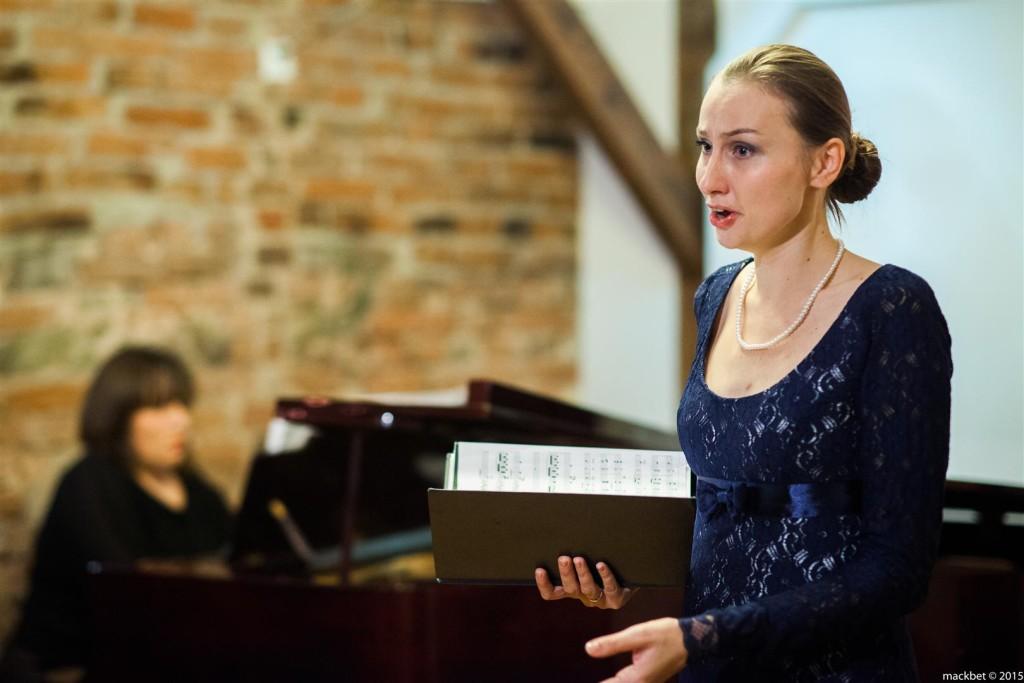 Koncert Pieśni Polskich wwykonaniu Barbary Rogali (sopran) iDobrochny Jachowicz - Zakrzewskiej (fortepian), fot.Maciek Pagacz